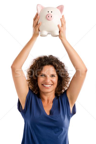 Photo stock: Heureux · investissements · portrait