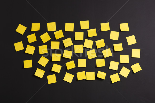 Yellow notes Stock photo © iko