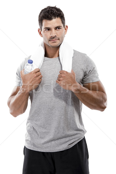 Athletic young man  Stock photo © iko
