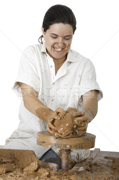 Stock photo: Potter's art