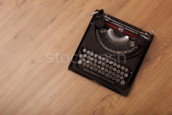 Vintage typewriter Stock photo © iko