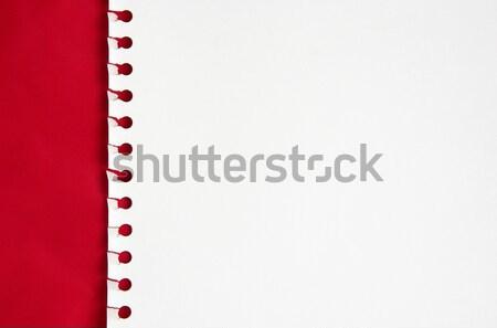 Stock fotó: Fehér · papír · piros · könyv · megbeszélés · háttér