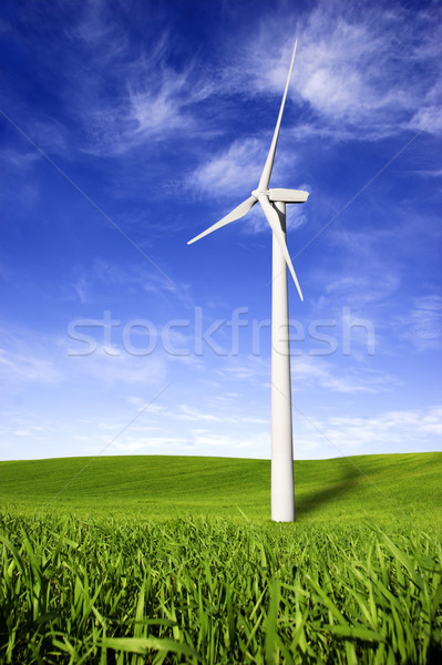 Wind turbines Stock photo © iko