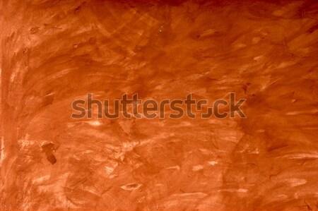 Orange wall background Stock photo © iko