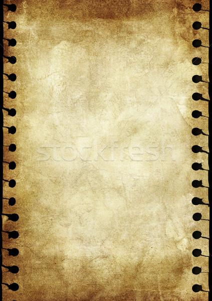 グランジ 抽象的な 古い 紙 壁 ストックフォト © iko