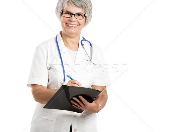 Female Doctor Stock photo © iko