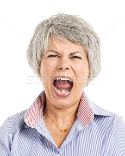 Yelling Expression Stock photo © iko