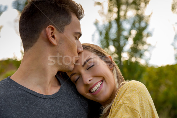 The joy of being in love Stock photo © iko