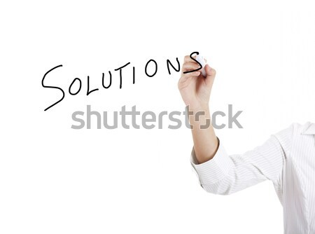 Solutions Stock photo © iko