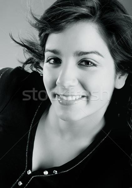 美 肖像 美しい 小さな 魅力のある女性 ファッション ストックフォト © iko