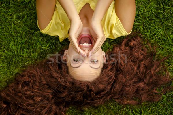 Hey you!!! Stock photo © iko