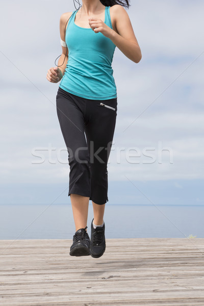 jogging Stock photo © iko
