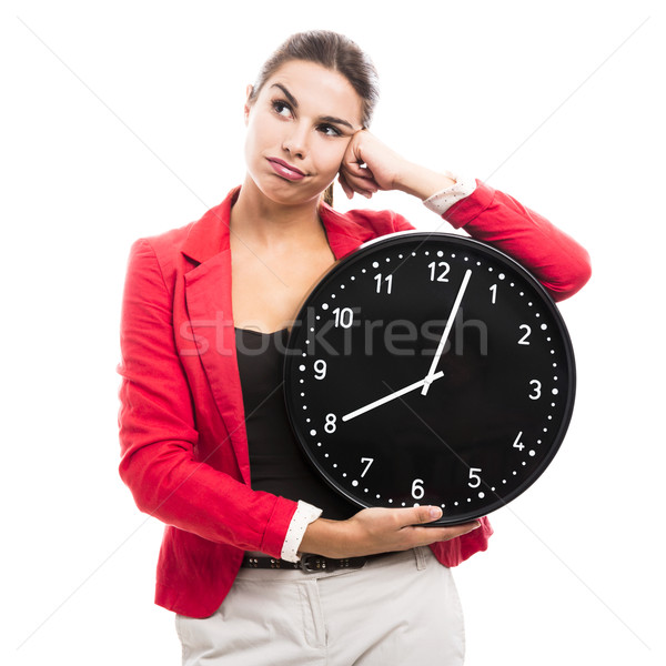 Stressed business woman Stock photo © iko