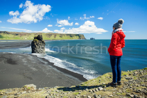 Tourist in Iceland Stock photo © iko