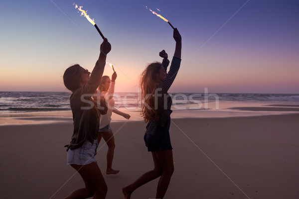Beach Party Stock photo © iko