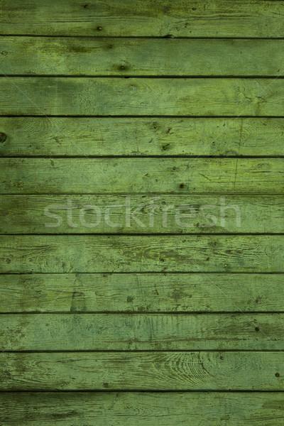 画像 古い 緑 木材 建設 ストックフォト © iko