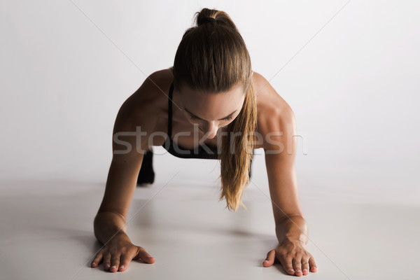 Planking for a strong core Stock photo © iko