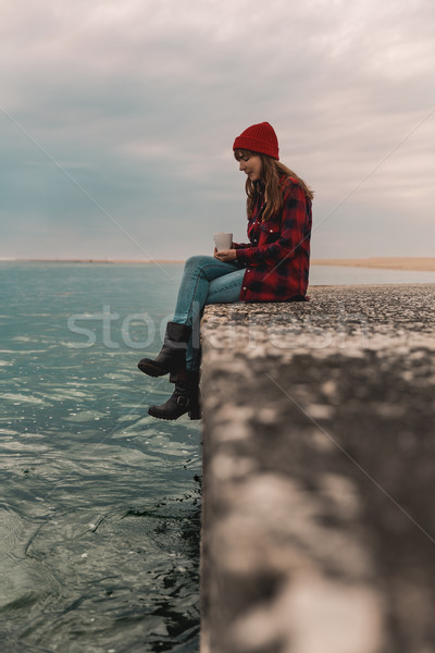 Sometimes I love my solitude Stock photo © iko