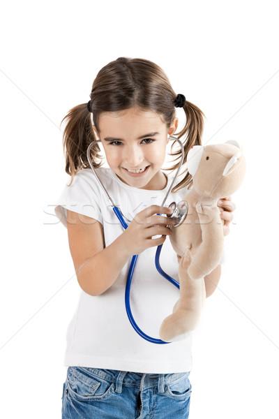 Little nurse Stock photo © iko