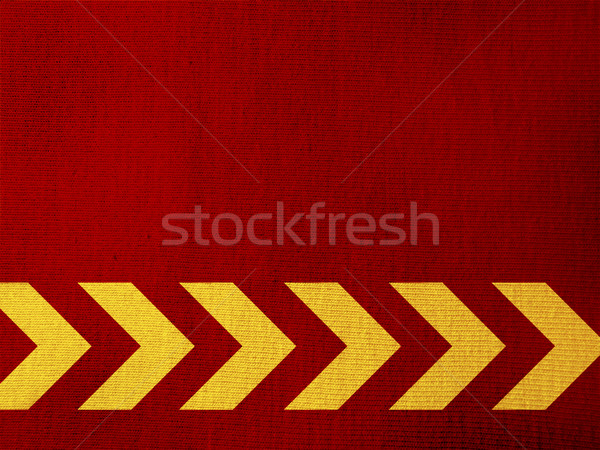 Citromsárga nyilak piros papírzsebkendő textúra terv Stock fotó © iko