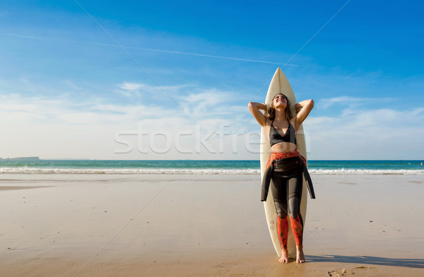 Another day of surf Stock photo © iko