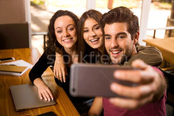 Students Selfie Stock photo © iko