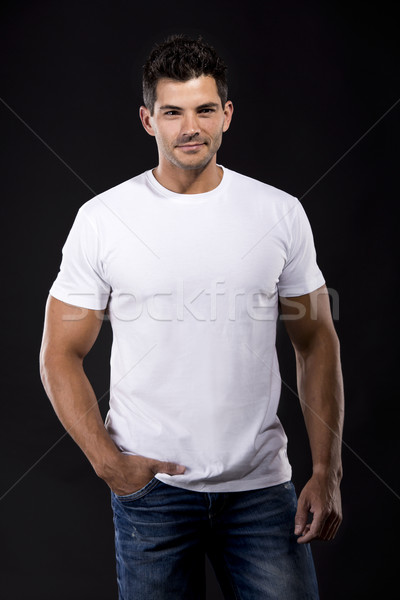 Handsome young man Stock photo © iko