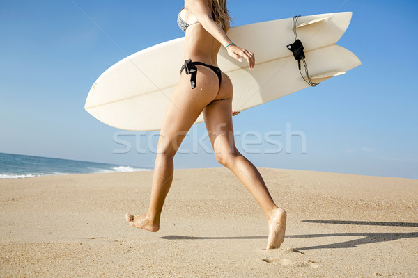 Let's hit the waves Stock photo © iko