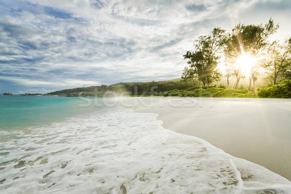 Grand Anse Beach Stock photo © iko