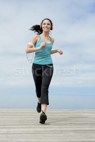 jogging Stock photo © iko