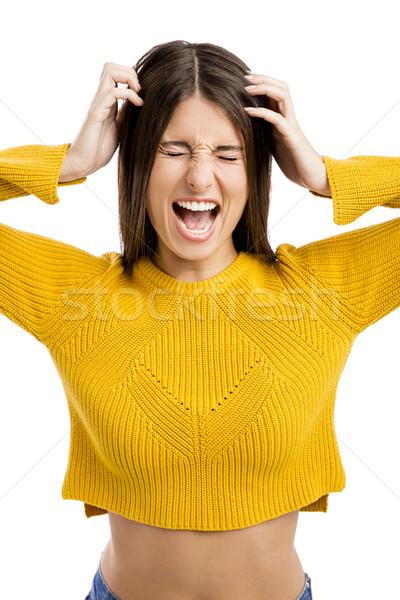 Yelling Stock photo © iko