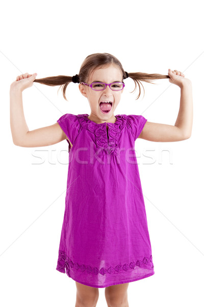 Pulling her hair out Stock photo © iko