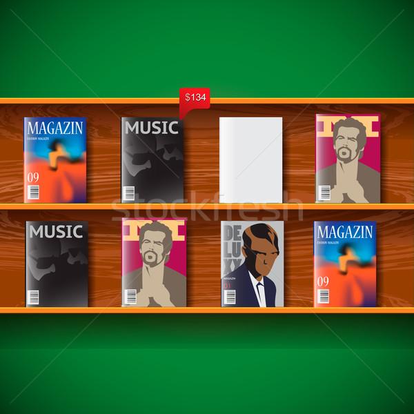 Online magazines Stock photo © ikopylov
