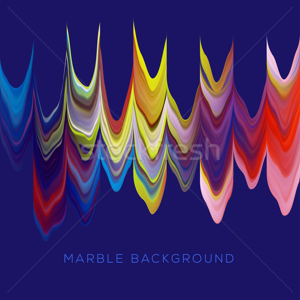 Abstract marmer veelkleurig patroon water textuur Stockfoto © ikopylov