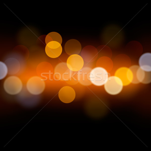 Abstract festive background with defocused lights Stock photo © ikopylov