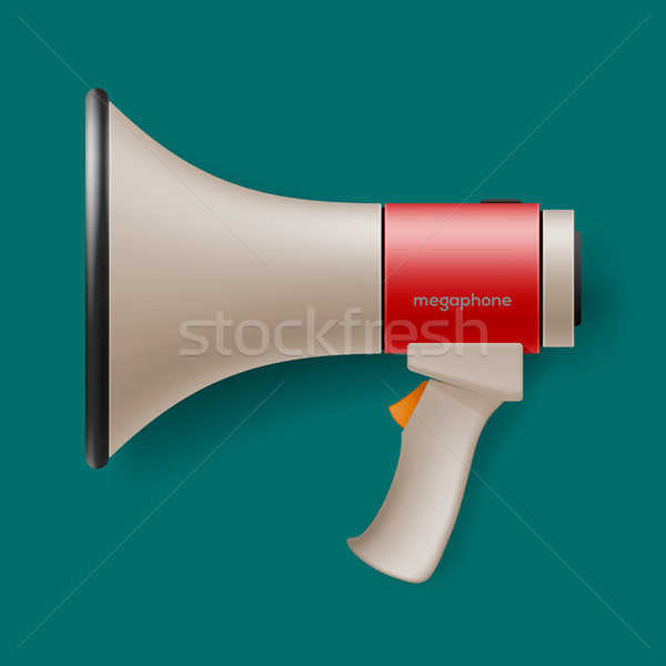 Megaphone for digital marketing concept Stock photo © ikopylov