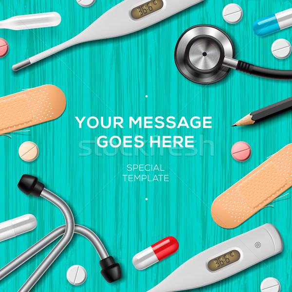 Medical equipment and supplies Stock photo © ikopylov