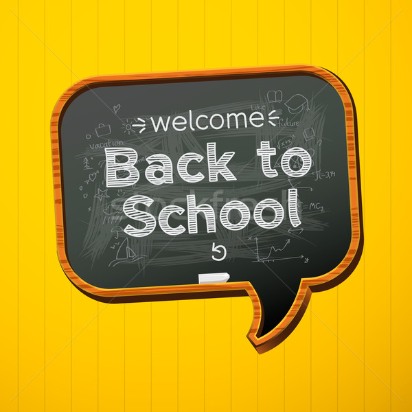 Back to school. Stock photo © ikopylov
