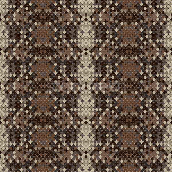 Snake skin reptile seamless pattern Stock photo © ikopylov