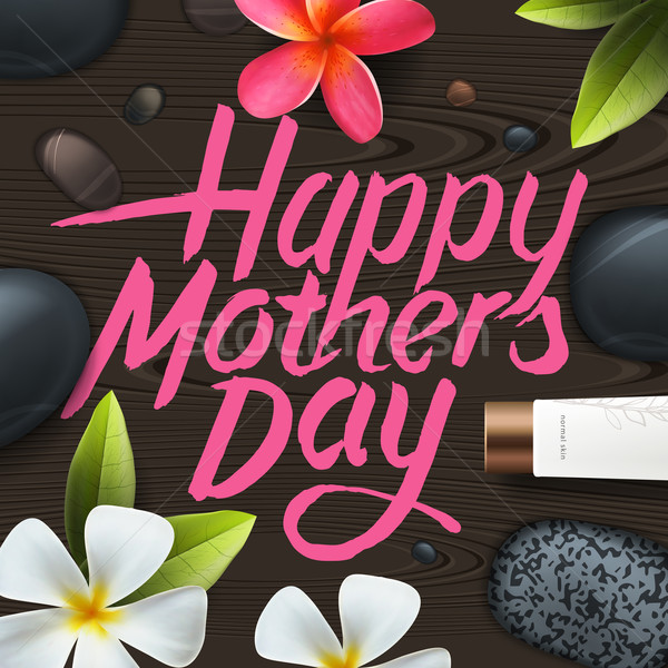 Happy mothers day. Spa therapy. Stock photo © ikopylov