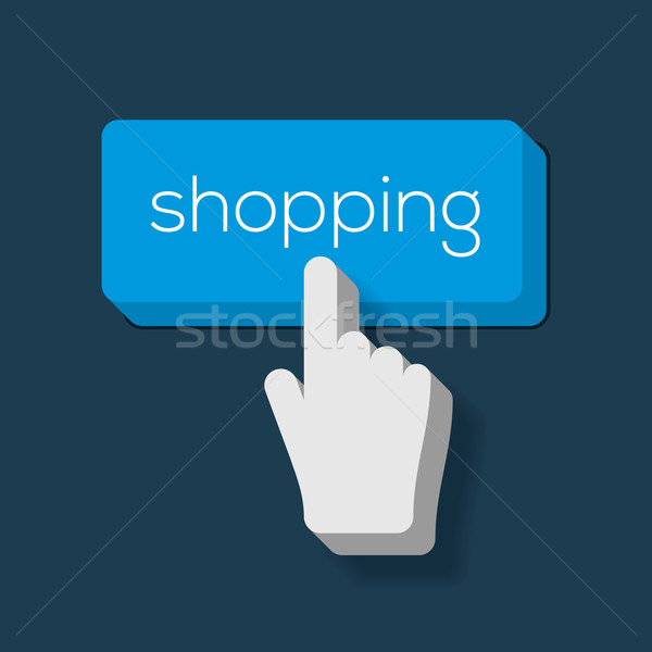Cyber Monday button on keyboard Stock photo © ikopylov