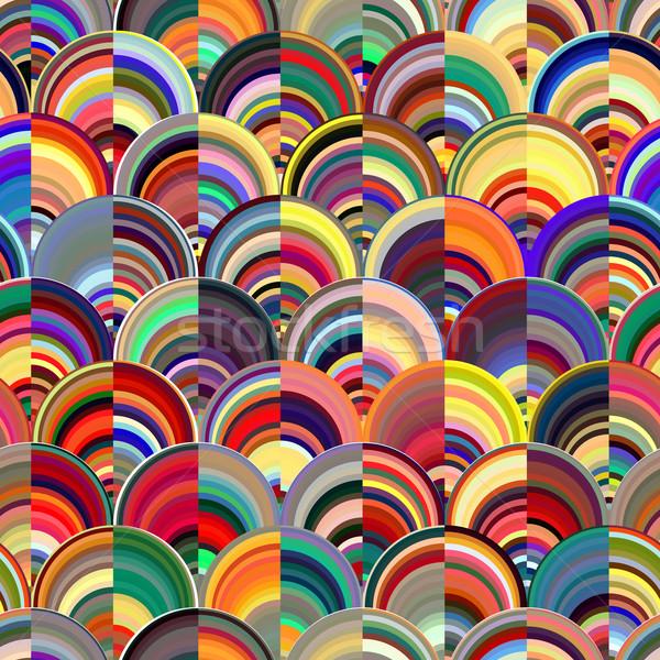 Abstract marmo multicolore acqua texture Foto d'archivio © ikopylov