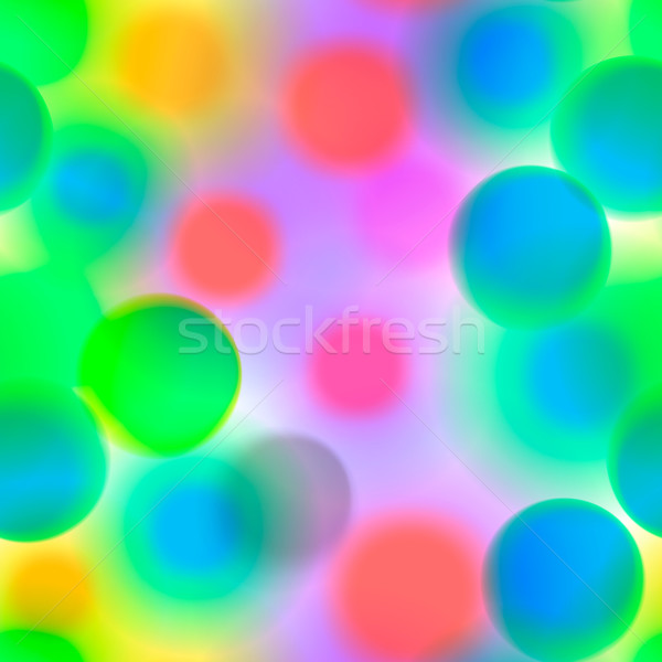 Stock photo: Seamless colorful pattern with circles