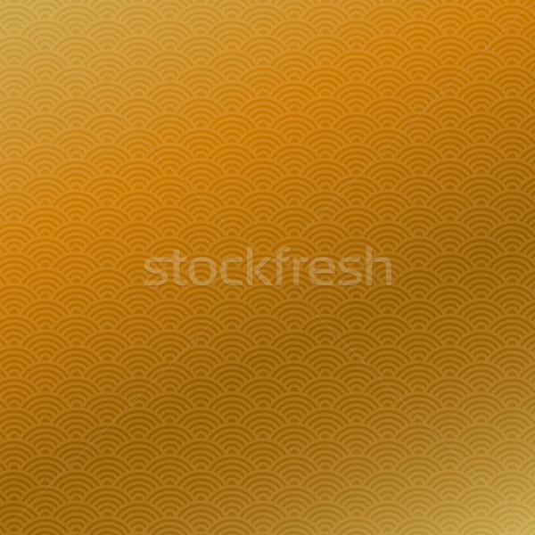 Abstract chinese new year seamless pattern, golden background, vector illustration. Stock photo © ikopylov