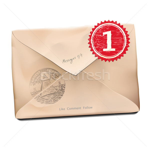 E-mail old new folder message. Stock photo © ikopylov