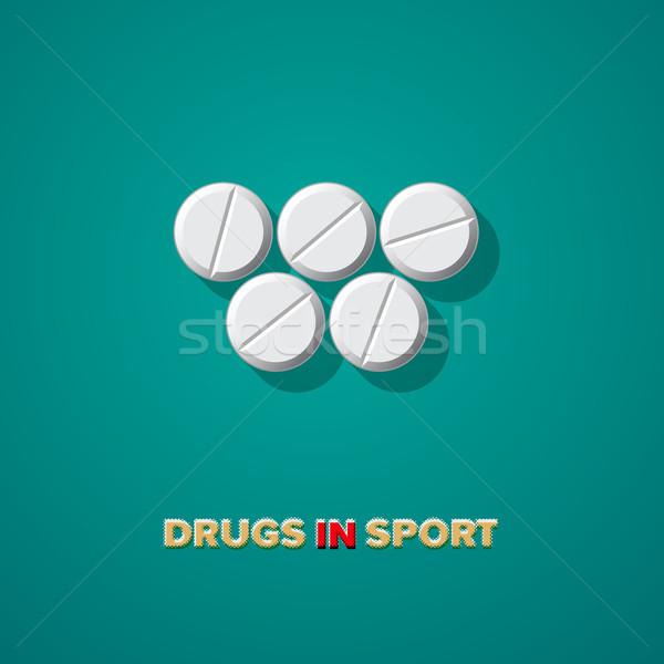 Drugs in sport Stock photo © ikopylov