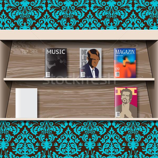 Stand online magazines, vector Stock photo © ikopylov