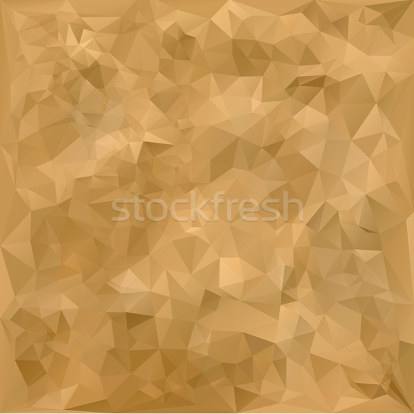 Old geometric polygonal paper texture Stock photo © ikopylov