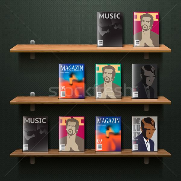 Bookshelf Stock photo © ikopylov