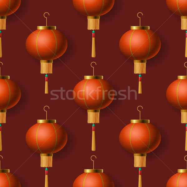 Lantaarns achtergrond Rood Stockfoto © ikopylov